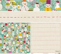 Crate Paper - Frosty - Snowy Days Paper