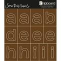 SCENIC ROUTE PAPER -Chipboards alfabeto