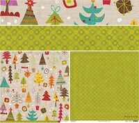 Crate Paper - Festive - Snowy Days Paper