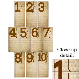 Ledgernumbers