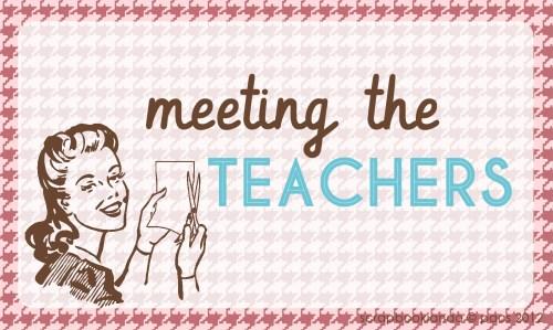 LOGO PACS - meeting the TEACHERS
