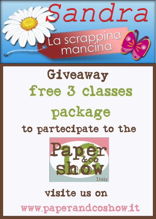 Giveaway pacs