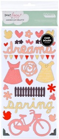 American Crafts -  Dear Lizzy - Chipboard