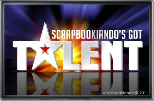 scrapbookiando's got talent - concorso