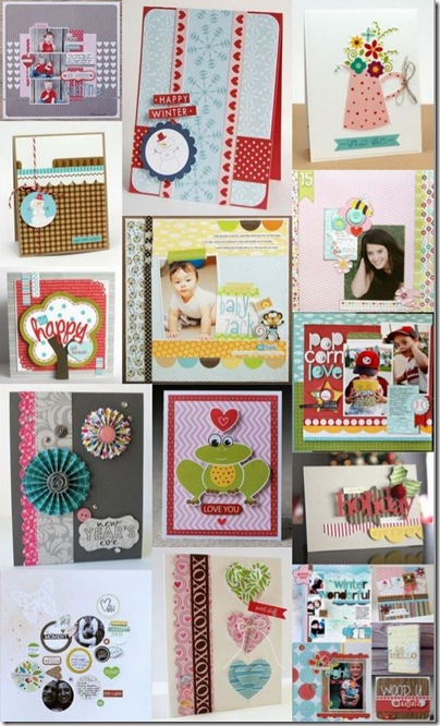 collage bella boulevard - scrapbooking