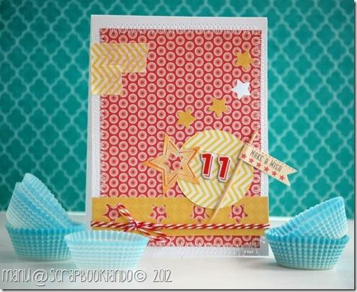 scrapbookiando - card Manu