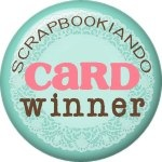 scrapbookiando - winner card