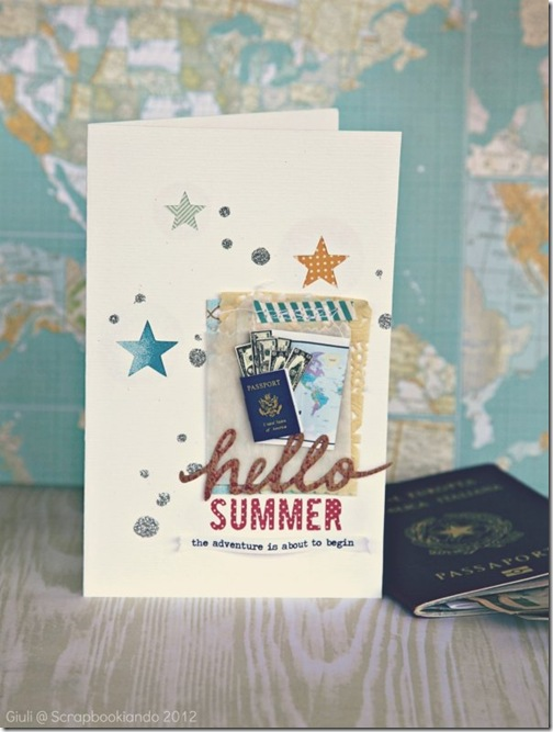 Summer card- Giuli
