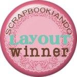 Scrapbookiando - winner LO