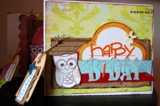 Card Happy B-Day
